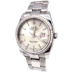 Rolex Datejust Oyster Perpetual Stainless Steel Bracelet Automatic Watch
