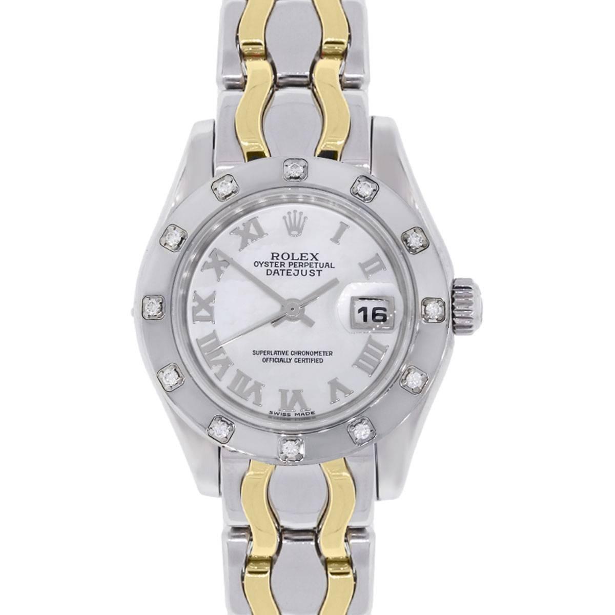 Rolex Datejust PearlMaster Automatic Wristwatch Ref 80319
