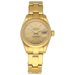 Rolex Datejust President 69178 Ladies Watch Box Papers