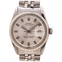"Rolex Datejust Ref 1601 Stainless Steel ""Fat Boy"", circa 1970"