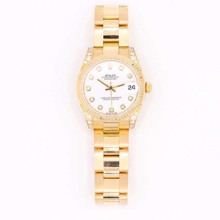 Modern Rolex Datejust Ref. 178238 For Sale