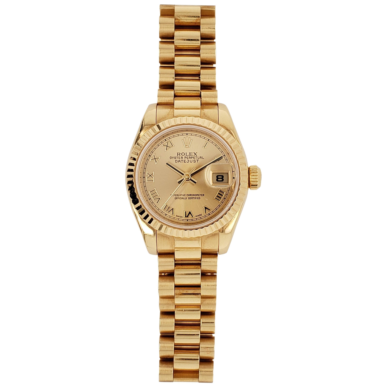 Rolex Datejust Ref. 179178