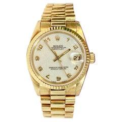 Rolex Datejust, Ref. 68278 Midsize 18 Karat Gold Ladies with Box