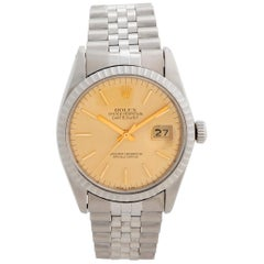 Rolex Datejust Reference 16030, Champagne Dial, Stainless Steel, Box and Papers