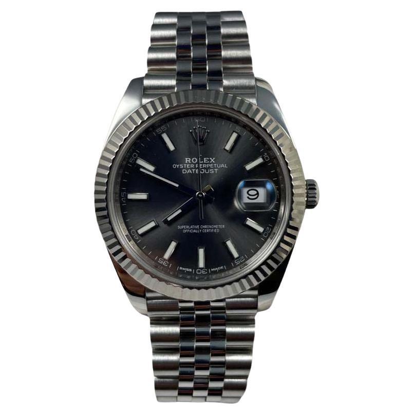 Rolex Datejust Rhodium Dial Ref.126334 Stainless Steel