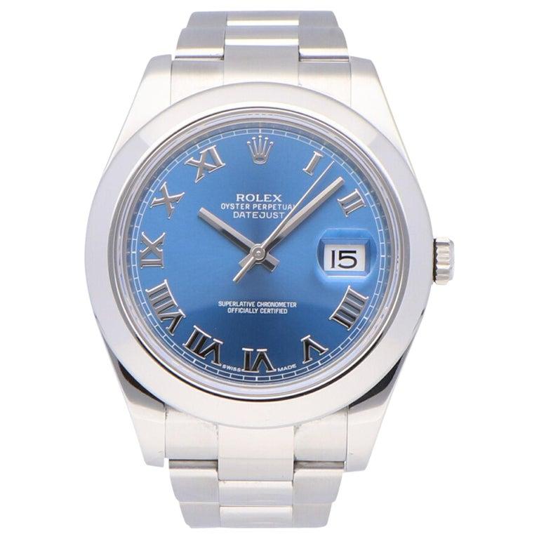 Rolex Datejust Stainless Steel 116300 Watch