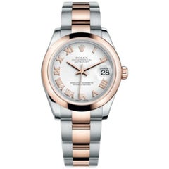 Rolex Datejust Stainless Steel and Rose Gold Ladies Watch Model #: 178241