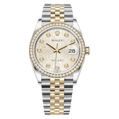 Rolex Datejust Stainless Steel and Yellow Gold Ladies Watch 126283RBR