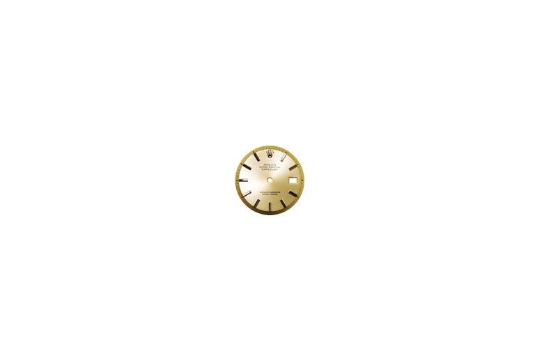 Rolex Datejust Stainless Steel Custom Green Diamond Dial, Dated 1978 For Sale 2