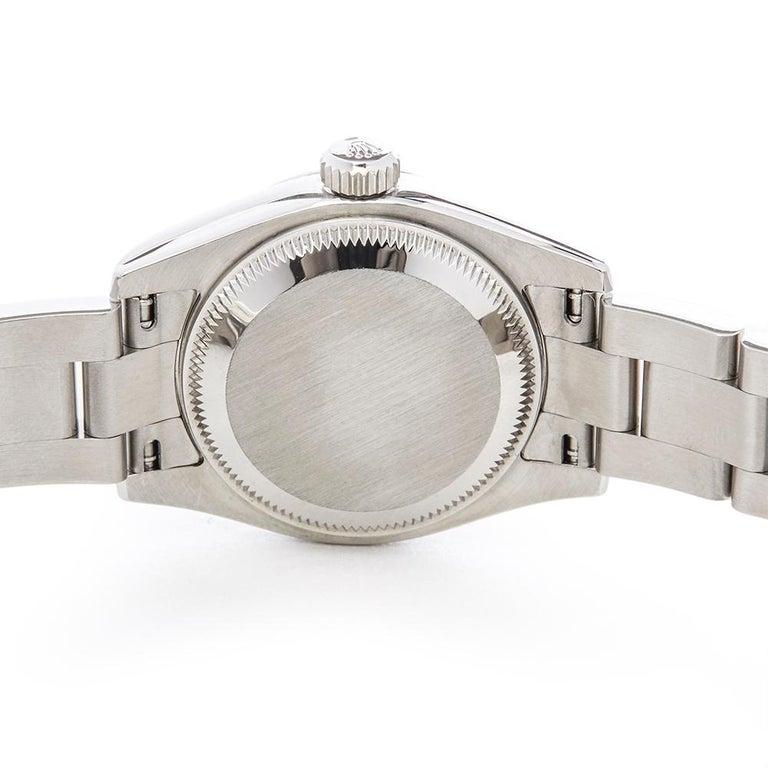 Rolex Datejust Stainless Steel Ladies 179160 3