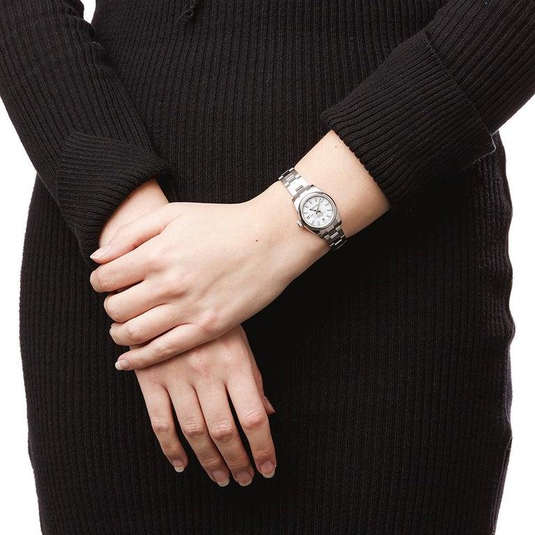 Rolex Datejust Stainless Steel Ladies 179160 5