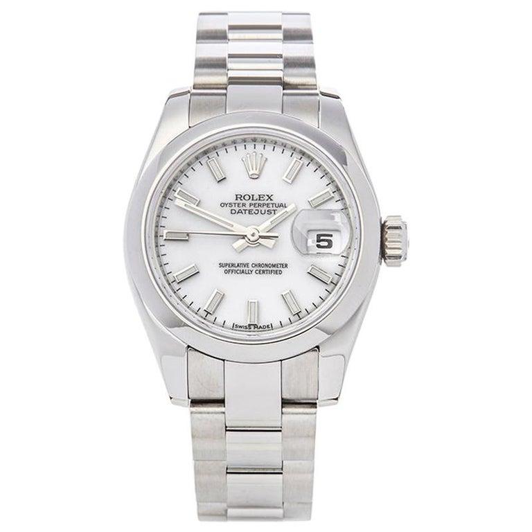Rolex Datejust Stainless Steel Ladies 179160