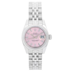 Rolex Datejust Stainless Steel Ladies Watch Automatic Winding 179174