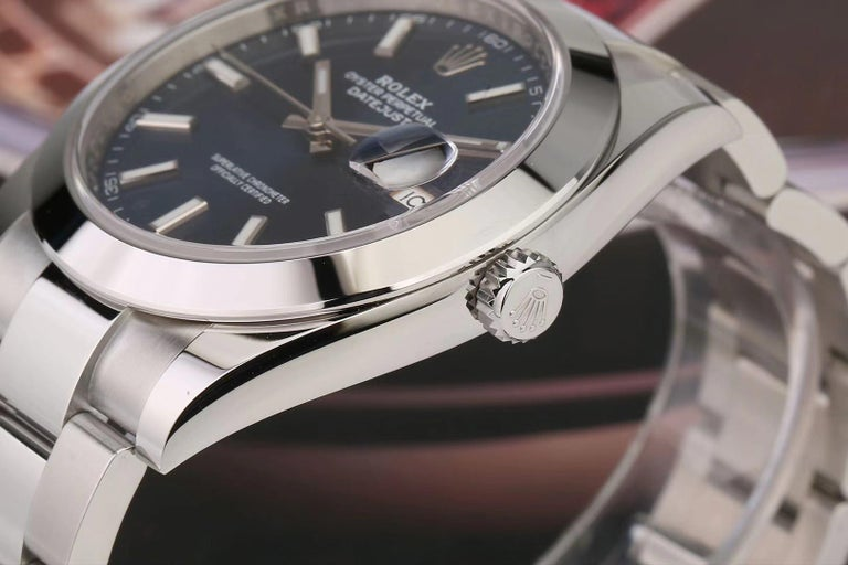 Rolex Datejust Stainless Steel Men's Watch m126300-0001 For Sale 3