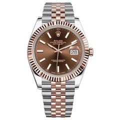 Rolex Datejust Steel and Everose Gold Men's Watch, 126331-0002