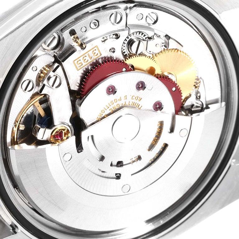 Rolex Datejust Steel White Gold Jubilee Bracelet Men's Watch 116234 3