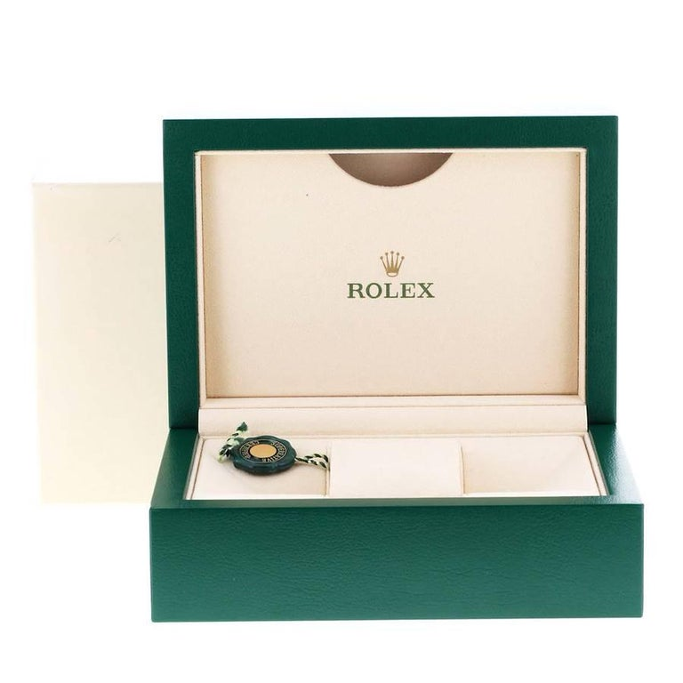 Rolex Datejust Steel White Gold White Roman Dial Mens Watch 116234 For Sale 7