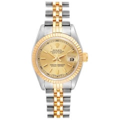 Rolex Datejust Steel Yellow Gold Automatic Ladies Watch 69173