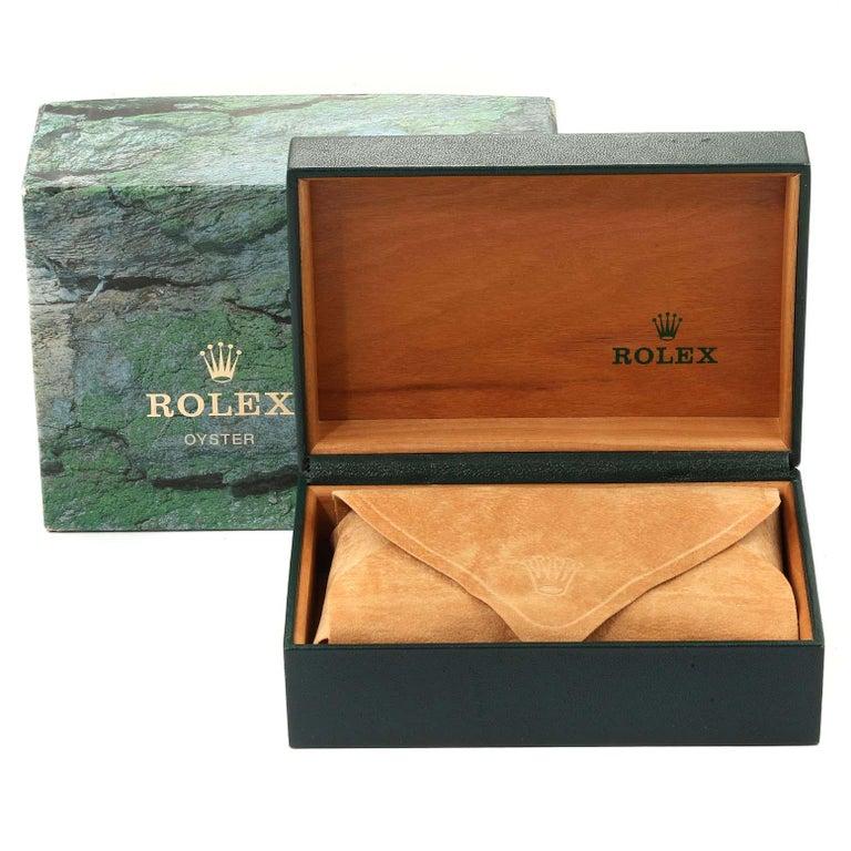 Rolex Datejust Steel Yellow Gold Diamond Men's Watch 16233 Box For Sale 8