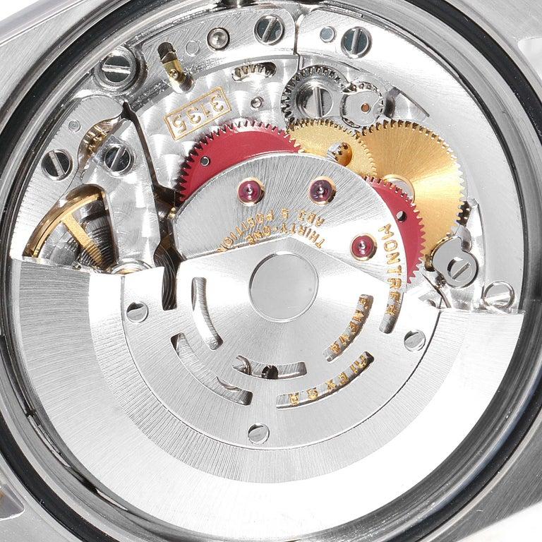 Rolex Datejust Steel Yellow Gold Diamond Men's Watch 16233 Box For Sale 3