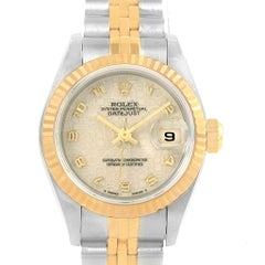 Rolex Datejust Steel Yellow Gold Ivory Jubilee Dial Ladies Watch 69173