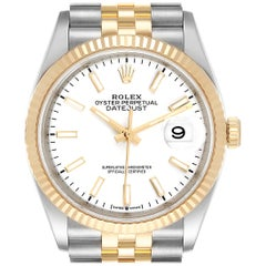 Rolex Datejust Steel Yellow Gold Jubilee Bracelet Men's Watch 126233