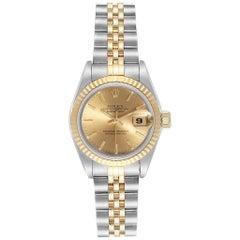 Rolex Datejust Steel Yellow Gold Ladies Ladies Watch 69173