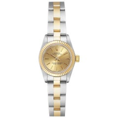 Rolex Datejust Steel Yellow Gold Ladies Watch 69173
