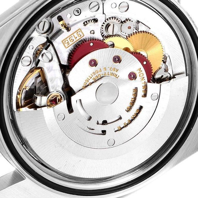 Rolex Datejust Steel Yellow Gold White Roman Dial Men's Watch 16233 5