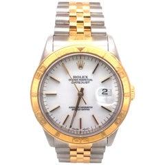 Rolex Datejust Turn-O-Graph Men's Yellow Gold & Steel Jubilee Link 16263