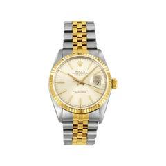 Rolex Datejust Two-Tone 18 Karat Gold/Steel Watch 16233