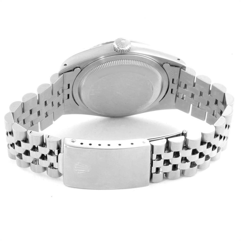 Rolex Datejust White Dial Jubilee Bracelet Steel Men S Watch 16200