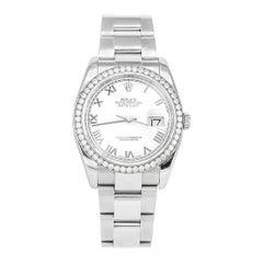 Rolex Datejust White Gold and Diamonds