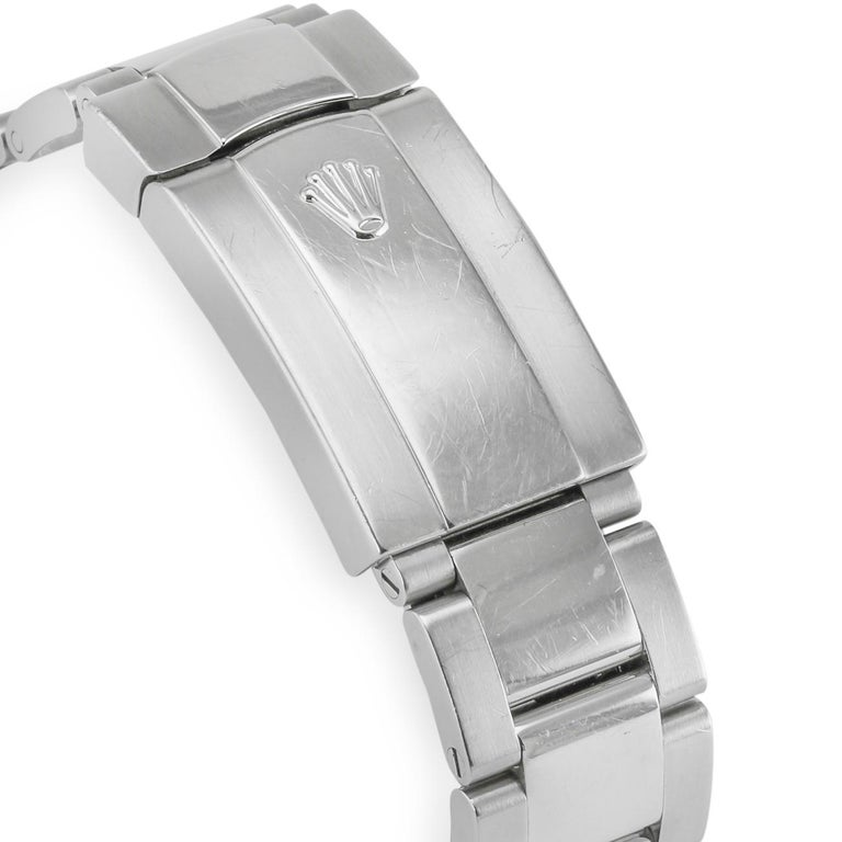 Women's or Men's Rolex Datejust White Gold and Diamonds For Sale