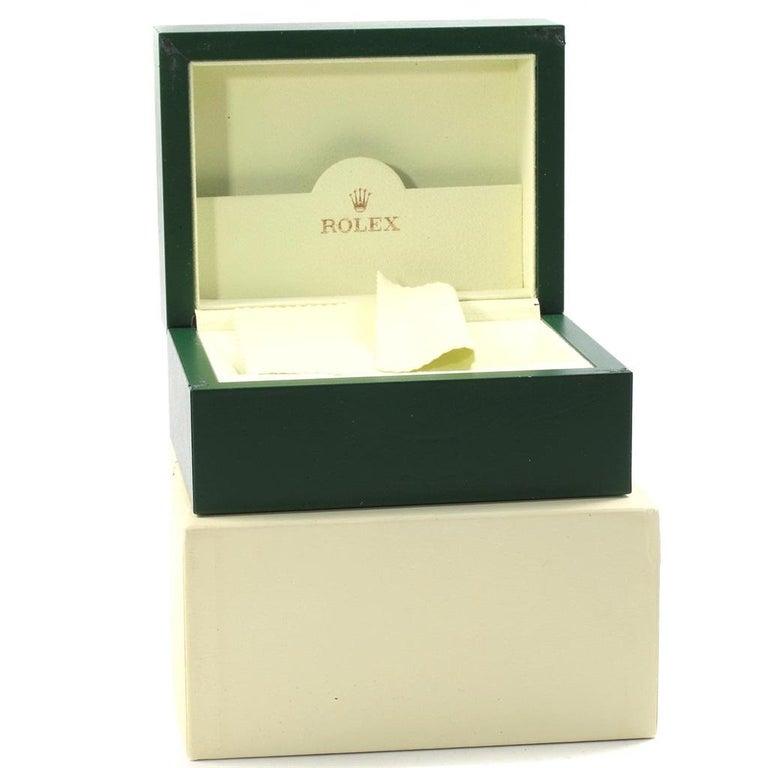 Rolex Datejust White Roman Dial Oyster Bracelet Ladies Watch 179160 For Sale 9