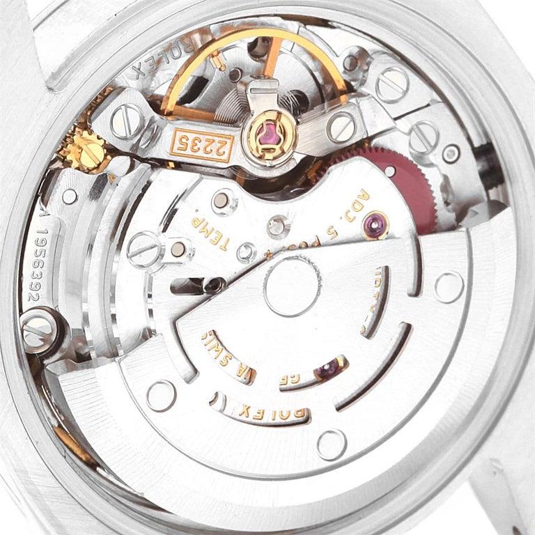 Rolex Datejust White Roman Dial Oyster Bracelet Ladies Watch 179160 For Sale 1