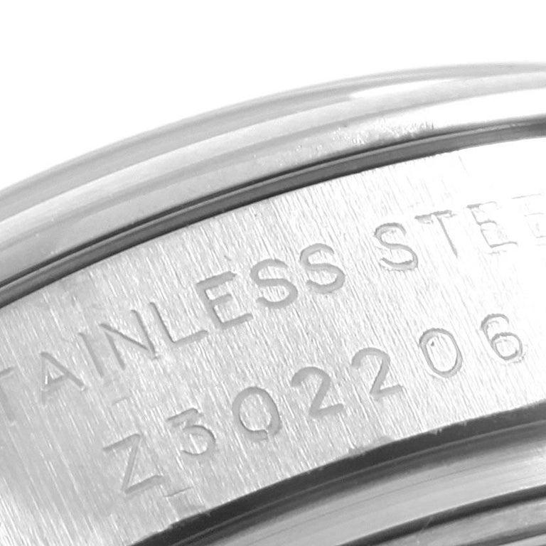 Rolex Datejust White Roman Dial Oyster Bracelet Ladies Watch 179160 For Sale 2