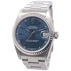 31mm Rolex Datejust with Blue Dial, circa 1998