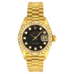 Rolex Datejust Yellow Gold 69258
