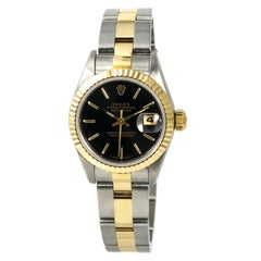 Rolex Datejust 69173, Black Dial Certified Authentic