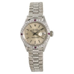 Rolex Datejust 6917, Silver Dial Certified Authentic