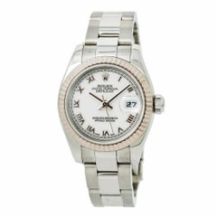 Rolex Datejust 179174, White Dial Certified Authentic