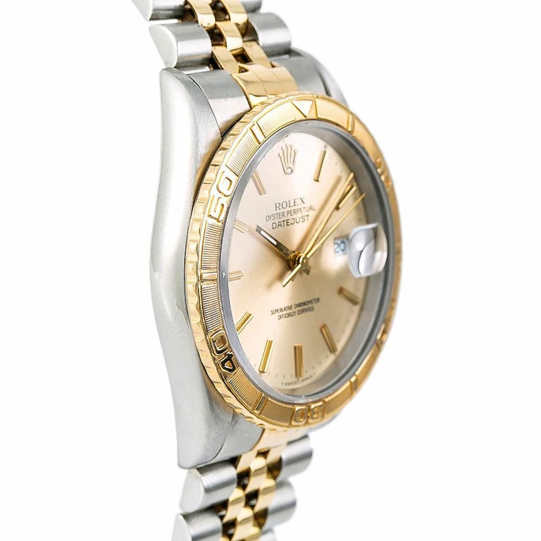 Rolex Datejust 5292, White Dial Certified Authentic In Good Condition For Sale In Miami, FL