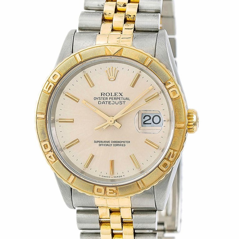 Women's Rolex Datejust 5292, White Dial Certified Authentic For Sale