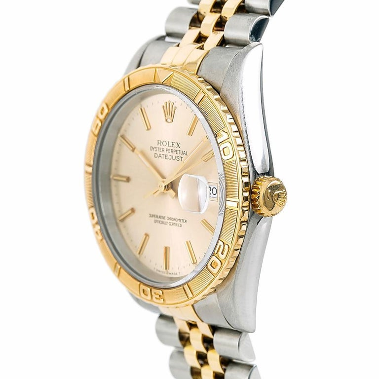 Rolex Datejust 5292, White Dial Certified Authentic For Sale 1