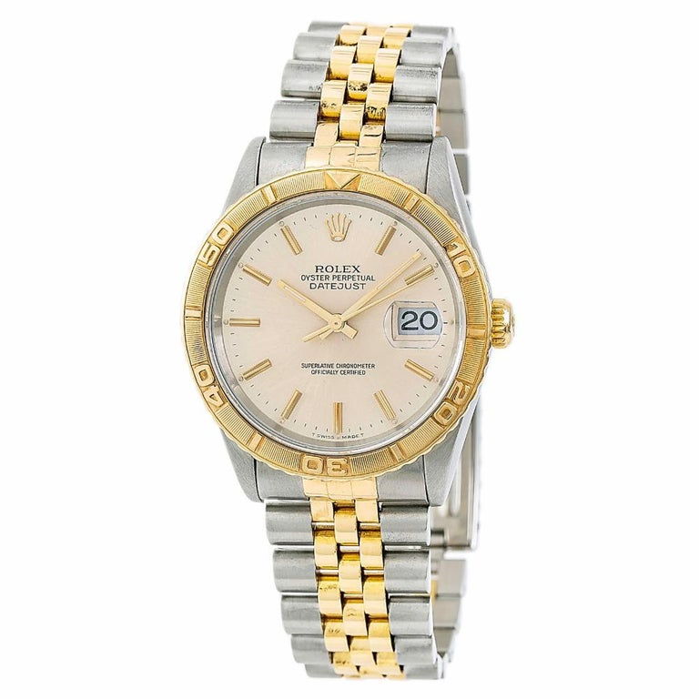Rolex Datejust 5292, White Dial Certified Authentic For Sale
