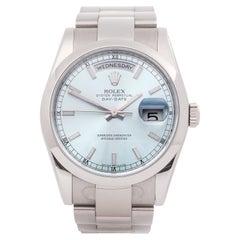 Rolex Day-Date 0 118209 Men White Gold 0 Watch