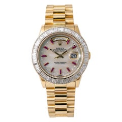 Rolex Day-Date 118208, Mother of Pearl Dial, Certified and Warranty