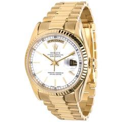 Rolex Day-Date 118238 Men's Watch in 18 Karat Yellow Gold
