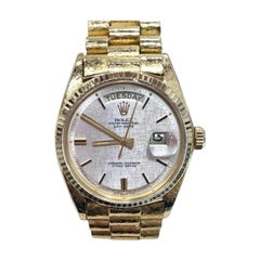 Rolex Day-Date 1803, Certified and Warranty